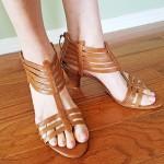 Goodwill Kansas News Article April 2017 Spring Thrift Fashion Sandals