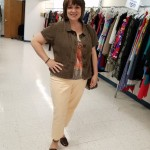 Goodwill Kansas News Article May 2017 Fashion Show Brown Tan