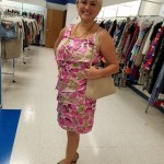Goodwill Kansas News Article May 2017 Fashion Show Floral Dress