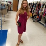 Goodwill Kansas News Article May 2017 Fashion Show Old Navy Dress