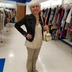 Goodwill Kansas News Article May 2017 Fashion Show Tan Denim Jacket
