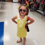 Goodwill Kansas News Article May 2017 Fashion Show Yellow Toddler Dress