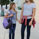 Goodwill Kansas News Article July 2017 Bts Chloe And Ellie Blue Shirt.