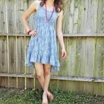 Goodwill Kansas News Article August 2017 Michelle Blue Dress