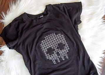 Goodwill Kansas News Article October 2017 Diy Skull Shirt Listing Image