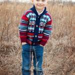 Goodwill Kansas News Article January 2018 Winter Fashion Boy Sweater