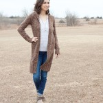 Goodwill Kansas News Article January 2018 Winter Fashion Women Long Cardigan Booties