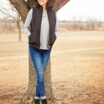Goodwill Kansas News Article January 2018 Winter Fashion Women Vest Booties