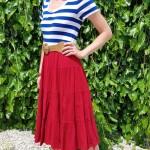 Goodwill Kansas News Article July 2018 Thrift Summer Finds Striped Navy White Top