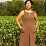 Goodwill Kansas News Article August 2018 Thrift Brown Dress 2