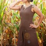 Goodwill Kansas News Article August 2018 Thrift Brown Dress