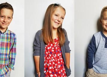 September   Fall Kids Fashion CROP