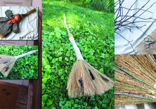 DIY Sanderson Sisters-Inspired Witch's Broom