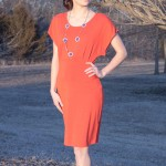Goodwill Kansas News Article Marchy 2019 Thrift Spring Finds Orange Dress