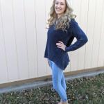 Goodwill Kansas December 2019 Blog Holiday Blue Sweater