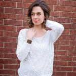 Janblog Michelle White Sweater