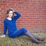 Janblog Micehlle Blue Sweater