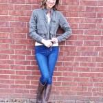 Janblog Michelle Olive Jacket