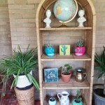 Thrifted Goodwill Kansas Wicker Shelf Home Decor