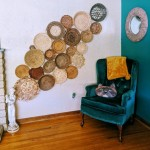 Thrifted Home Decor Basket Wall