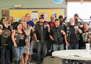 Bikers Against Child Abuse Partners with Goodwill Kansas